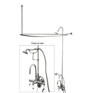 clawfoot tub shower.  Clawfoot Tub Shower Package Wayfair