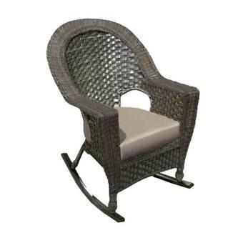 Paula Deen Home Bungalow Rocking Chair With Cushion ...
