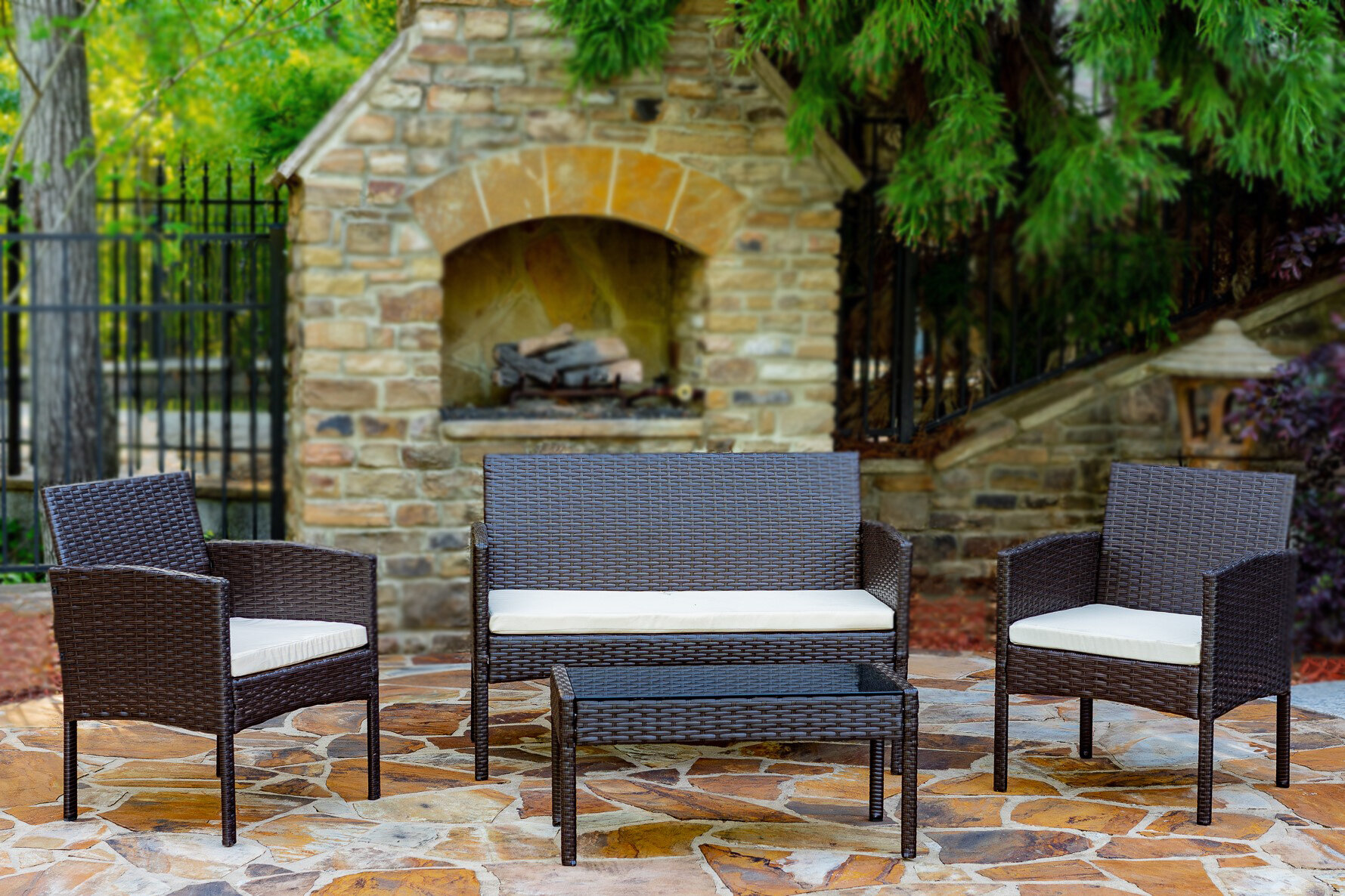 Fantastic Patio Furniture Sales Clearances Wayfair Interior Design Ideas Gentotthenellocom