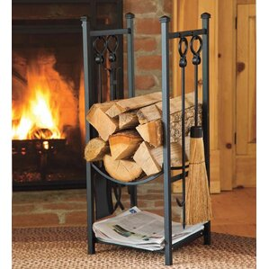 Indoor Firewood Holder | Wayfair
