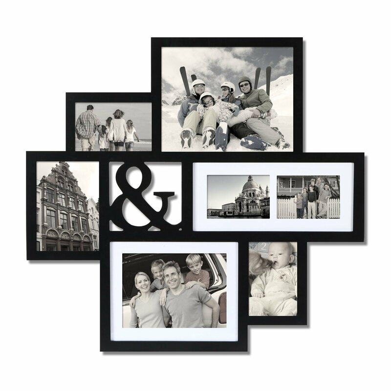 AdecoTrading 7 Opening Wall Hanging Collage Picture Frame | Wayfair