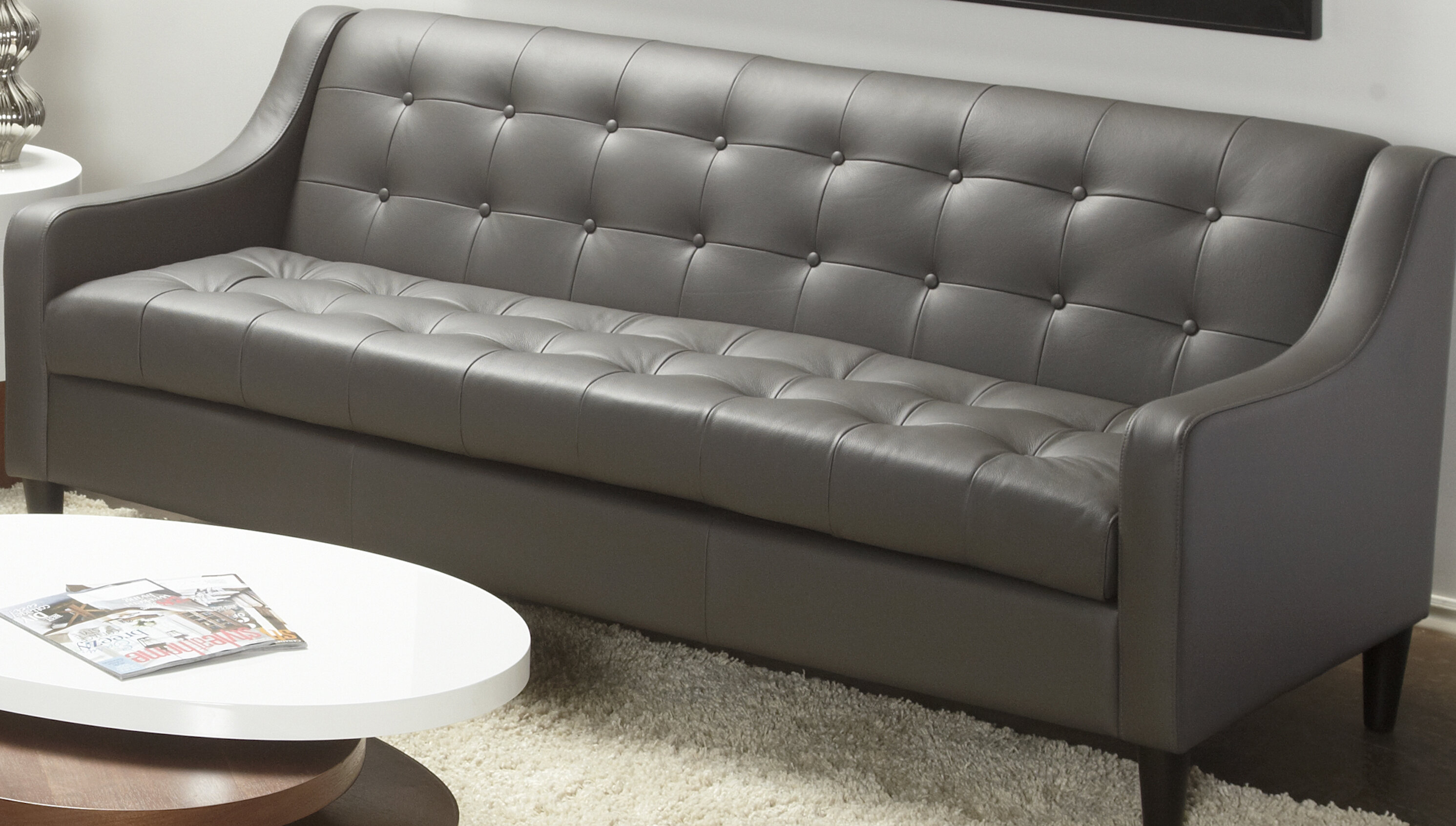 Dann Leather Sofa