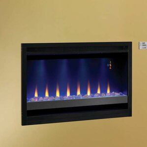 Builder Box Contemporary Wall Mount Electric Fireplace by Classic Flame
