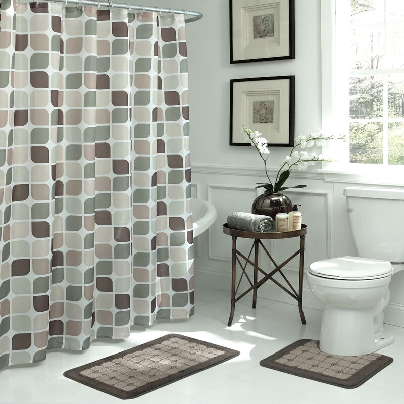 Exceptionnel Swinford Geometric 15 Piece Bath Set