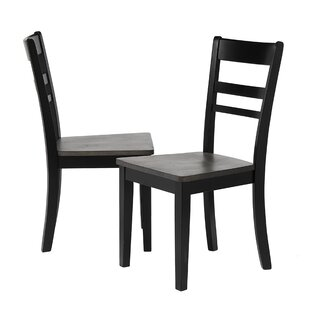 Edmiston Solid Wood Dining Chair (Set of 2)