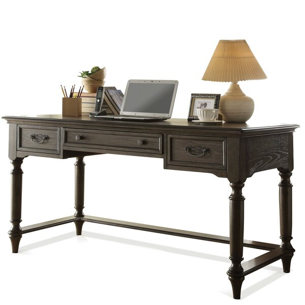 Darby Home Co Broad Brook Writing Desk with Keyboard Tray