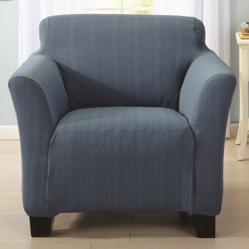 Darla Box Cushion Armchair Slipcover