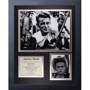 James Dean Framed Photographic Print