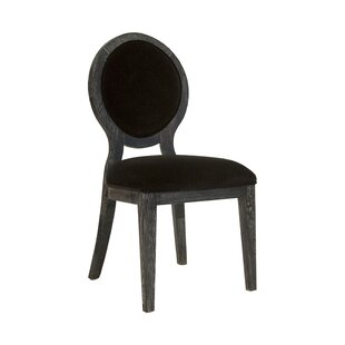 Oval Upholstered Dining Chair