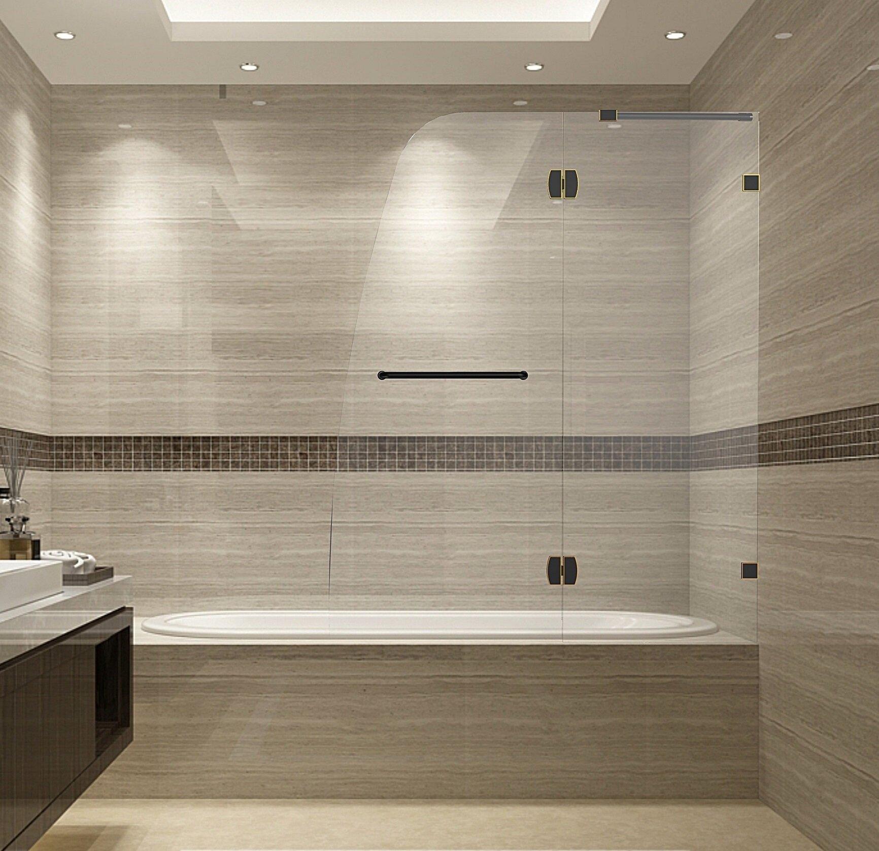 Soleil Aston Frameless Bath Door