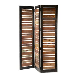 Room Divider Wood solid wood room dividers you'll love | wayfair