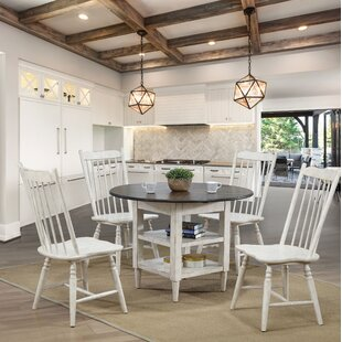 Rensselear 5 Piece Drop Leaf Dining Set