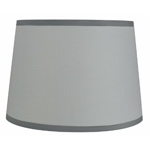 French 12 Cotton Drum Lamp Shade