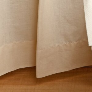 Gathered Cotton Bed Skirt