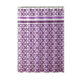 PEVA Pinwheel Design Shower Curtain