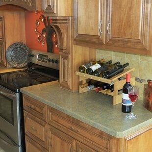 Dakota 21 Bottle Floor Wine Rack