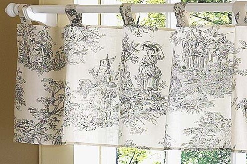 Sweet Jojo Designs French Toile 54 Quot Curtain Valance