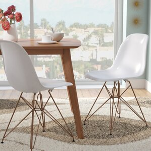 mohnton solid back side chair set of 2