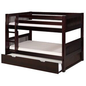 Isabelle Twin Bunk Bed with Trundle by..