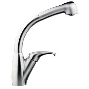 Soleil Single Handle Single Hole Pull Out Kitchen Faucet