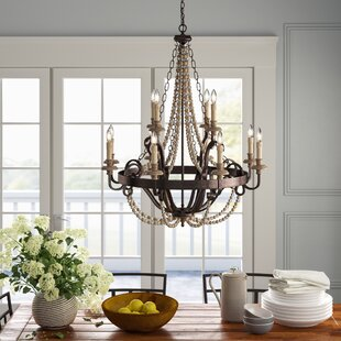 Diann 12 Light Candle Style Chandelier