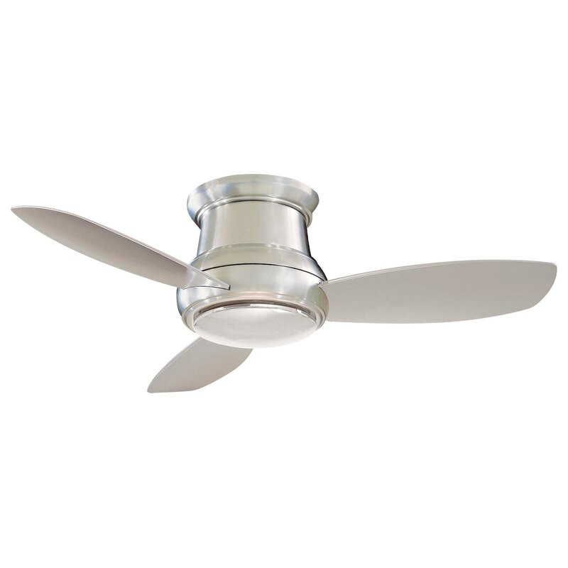 Minka aire 44 concept ii 3 blade led ceiling fan reviews wayfair 44 concept ii 3 blade led ceiling fan aloadofball Gallery