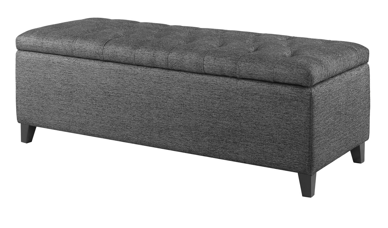 Alcott Hill Holoman Upholstered Storage Bench & Reviews