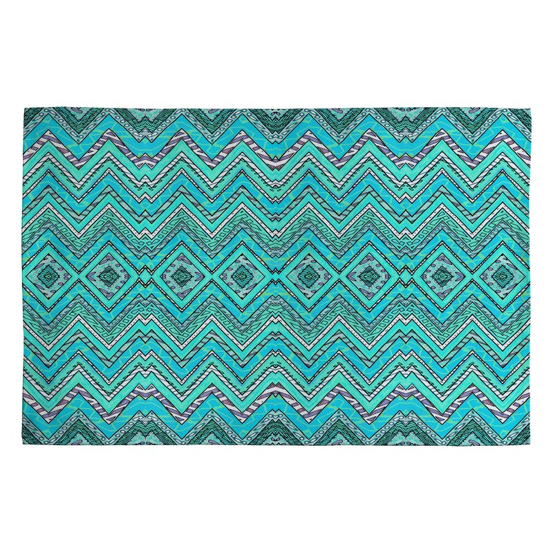Linoleum Rug Turquoise Terracotta Area Rug Or Kitchen Mat: Deny Designs Ingrid Padilla Turquoise Area Rug & Reviews