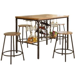 bradley 5piece pub table set