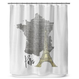 Paris 90 Shower Curtain