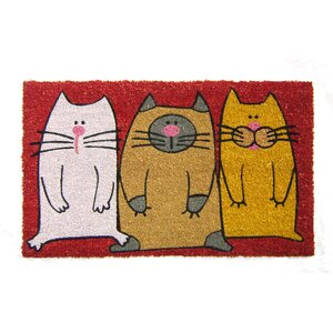 Simmonds Cats Doormat