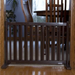 Amish Handcrafted Bonnie Freestanding Pet Gate