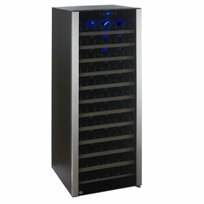 80 Bottle Evolution Single Zone Freestanding Wine Cooler by Wine Enthusiast