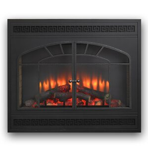 Gallery Led Built in Wall Mount Electric Fireplace Insert by The Outdoor G..