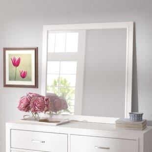 White Dresser And Mirror Set Wayfair