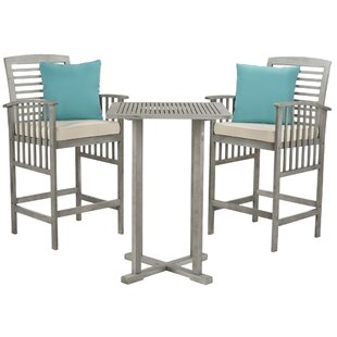 Kirsta 3 Piece Pub Table Set