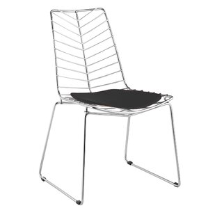 Wire Leaf Side Chair by Fine Mod Imports