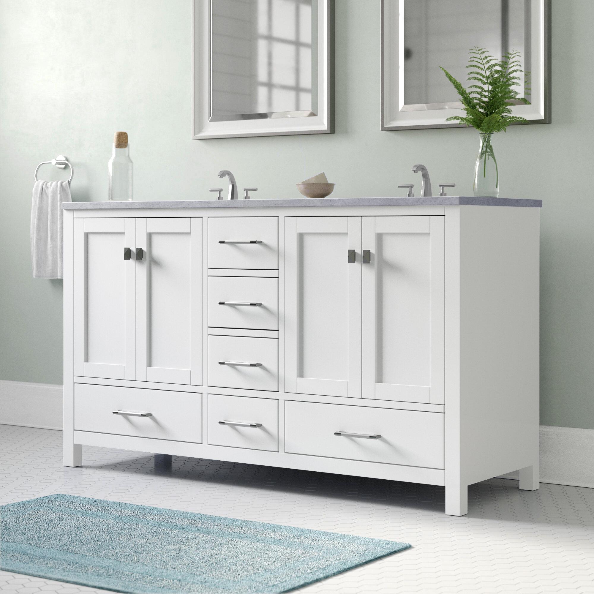 latitude run kazanovicz 60 bathroom vanity base only reviews rh wayfair com bathroom vanity 600mm bathroom vanity 60 single sink