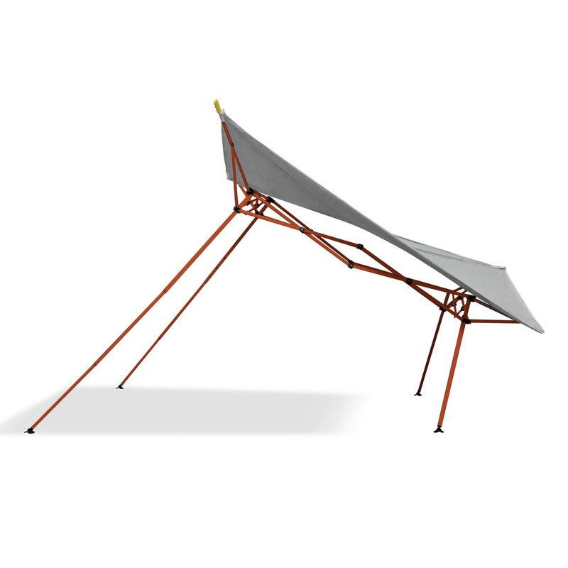 EvoShade 8 Ft. W x 8 Ft. D Steel Pop-Up Canopy  sc 1 st  Wayfair & CaravanCanopy EvoShade 8 Ft. W x 8 Ft. D Steel Pop-Up Canopy ...