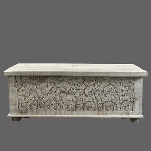 Carved Panel Trunk