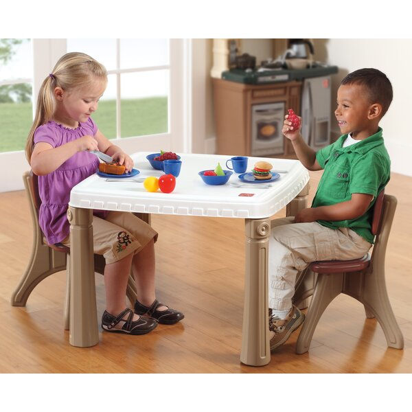 Kids Kitchen Table: Step2 Lifestyle Kitchen Kids Table And Chair Set & Reviews