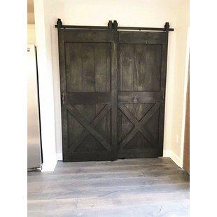 Double Hanging Barn Door Wayfair