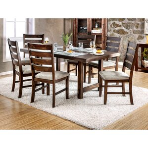 Pulasia 7 Piece Dining Set by Enitial Lab