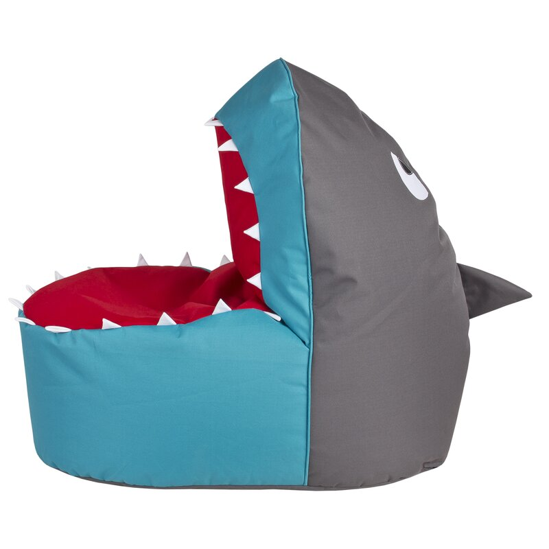 Zoomie Kids Shark Bean Bag Chair Wayfair Ca