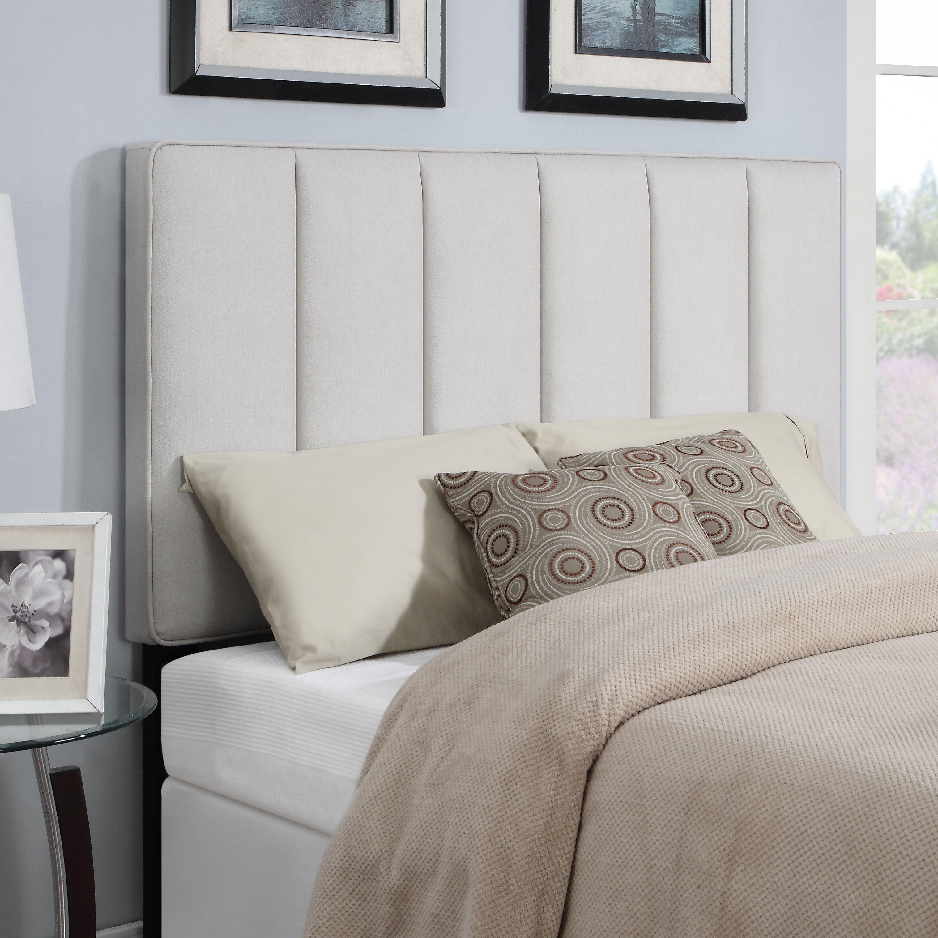 Ebern Designs Pettiford Upholstered Panel Headboard & Reviews