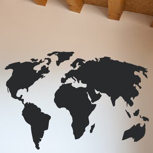 977a9608e87c Large World Map Wall Decal