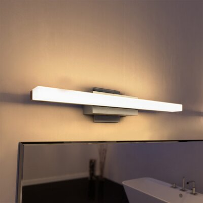 Lithonia Lighting Cylinder 1-Light LED Bath Bar & Reviews | Wayfair