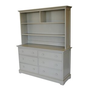 Chesapeake 6 Drawer Double Dresser with Hutch by Centennial