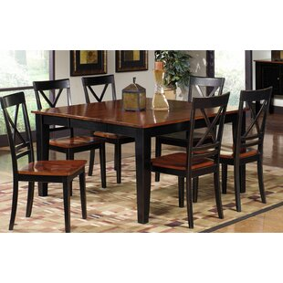 Picardy Solid Wood Dining Table