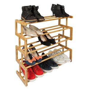 Schuhregal mit 5 Regalen von Woodluv